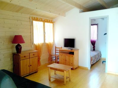 Photo for Homerez last minute deal - Beautiful chalet with garden