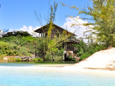 Photo for Stunning Beachfront House on Exclusive Parrot Cay