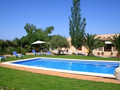 Photo for Large garden with pool - Villa Garballó