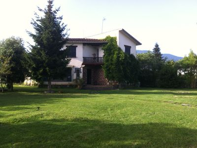 Photo for House with nice garden in the skirt of the Montseny, 40 kms from Barcelona