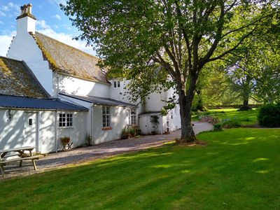 Photo for East Wing: 1 bed cottage attached to former 1730 manse nr Dingwall/Strathpeffer