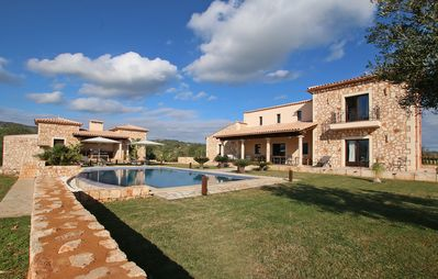 Photo for Sant Salvador - Country house for 8 people in Manacor