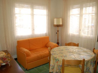 Photo for Ground floor apartment situated in the Port of Llançà at 200m from the sandy beach.It ha