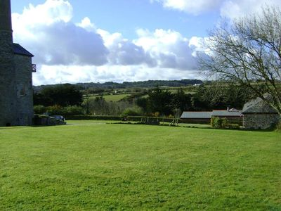 View across the valley form our top field play area