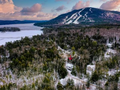 Photo for Lakehouse w/nearby skiing and on-site kayaks - near Shawnee Peak and Moose Pond