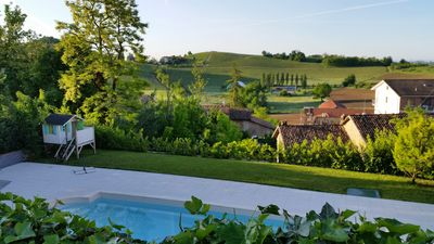 Photo for Luxurious holiday houses with pool in Piedmont