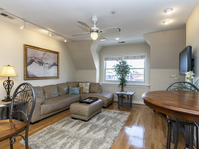 Photo for DuPont Apt, New, skylights, 2 blocks metro