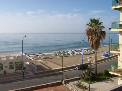 Photo for Delightful top floor apartment with fantastic views of mountains and sea.