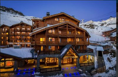 Photo for Val Thorens Ski in/out 4 bedroom 5 star apartment for8 with swimming pool, sauna