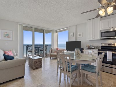 Photo for Breathtaking Views from this Updated Gulf Front Condo