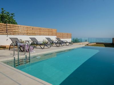 Photo for R896 Villa with Private Pool and Sea view BBQ Area