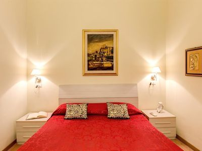 Photo for Apartment 255 m from the center of Rome with Internet, Air conditioning, Lift, Washing machine (370515)