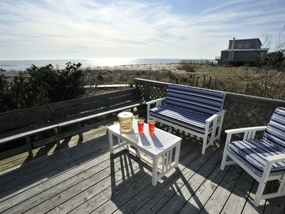 Photo for Fire Island, Tranquility, Beach, Spectacular Sunsets, Cozy and Comfortable