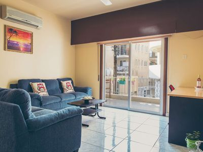 Photo for A huge, spacious 2-bedroom apartment by the sea