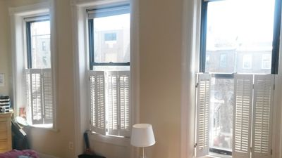 Photo for Renovated 2 Bed/2Bath Brownstone Duplex with Deck, Garden + 8' Pool Table