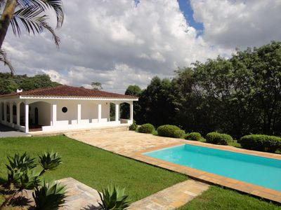 Photo for Beautiful Finca with pool, barbecue at 30 minutes of SP Capital