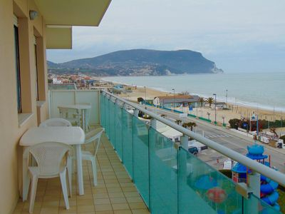 Photo for M62 - Marcelli, penthouse facing the sea