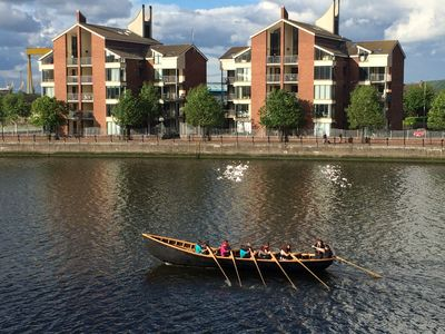 Lagan Boat Club)250 Meters from apartment - Kids&Adults rowing and water sports