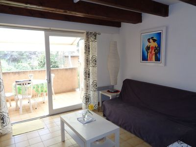 Photo for Duplex for 4 people 100m from the beach