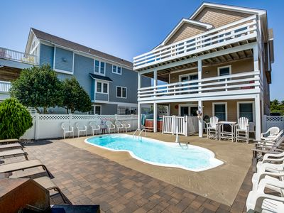 Photo for Moby's Landing | 856 ft from the beach | Private Pool, Hot Tub