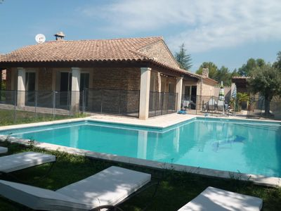Photo for VILLA WITH POOL, ARBOREE, ENCLOSED AREA CALME10 people