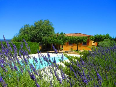 Photo for THE LUMIGNONS - Provençal House - Secure Private Pool - Garden Enclosed