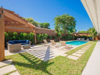 Photo for Luxury 2 Bedroom Villa with Private Pool in the Heart of Downtown Delray Beach