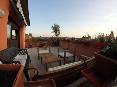 Photo for Exceptional historic center parking terrace of 25m2 magnificent view