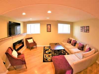 Photo for HR - Partial Lake view, Private 5 bedrooms with a large game room and a hot tub!