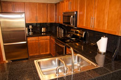 Kitchen - Stainless steel and granite counters, all recently remodeled