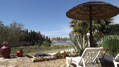 Photo for Angrinha apartment - Ferragudo, Algarve, Portugal - directly on the beach