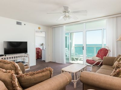Photo for Blue Water Keyes - 1107 Spacious condo oceanfront with 4 bedrooms for your relaxation!