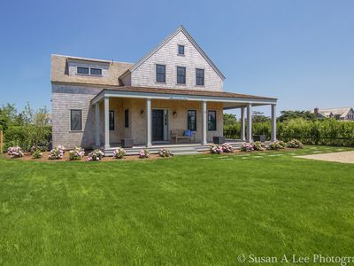 Photo for Stunning contemporary Andrew Kotchen designed home in Sconset