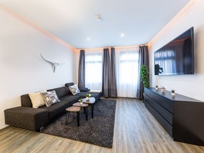 Photo for Altstadt Apartment | 80m2 with garden view balcony great location