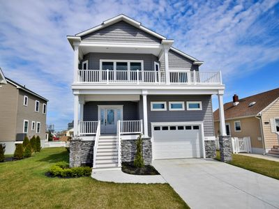 Photo for NEW CONSTRUCTION BRIGANTINE BEACH with  Bay views, 1.5 blocks to beach