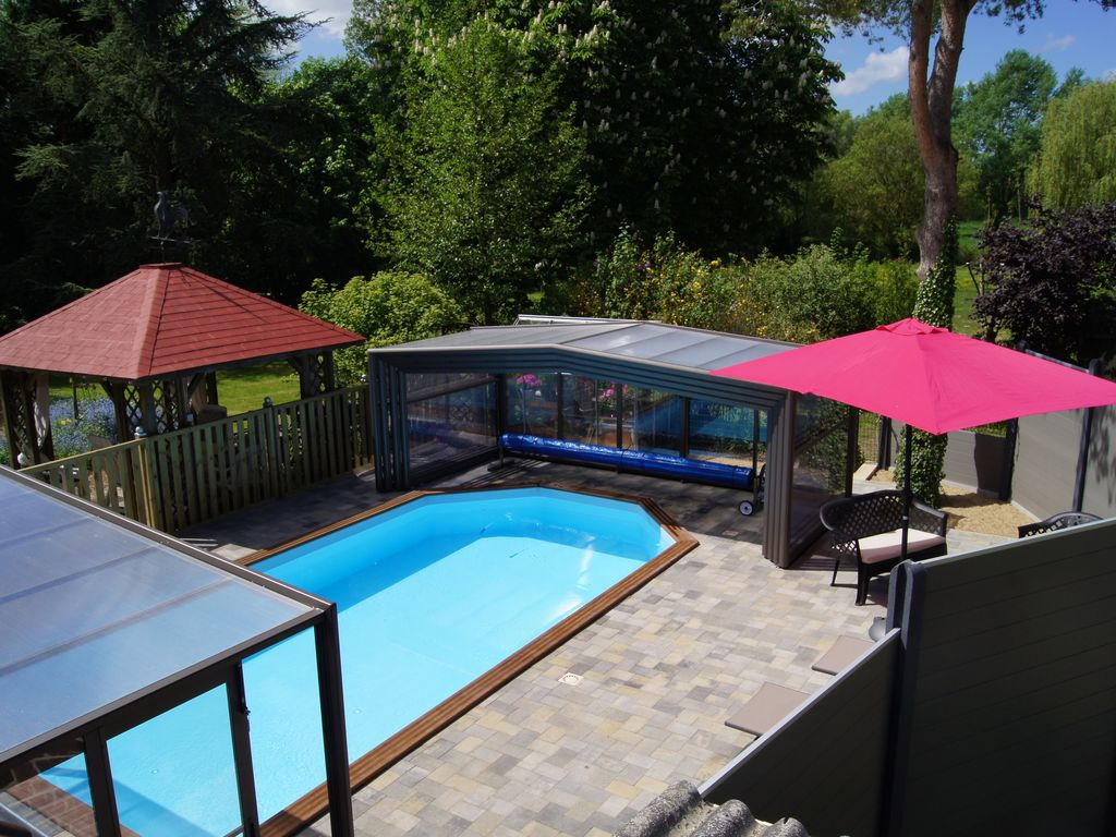 Charming cottage 6/7 people with access to a heated and covered swimming  pool - Blessy