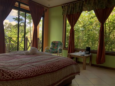Photo for Incredible Room with incredible Lake and Volcano Views from the Lodge