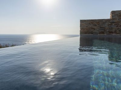 Photo for VATHI BLUE LUXURY VILLA WITH PRIVATE SWIMMING POOL AND EXCEPTIONAL SEA VIEW