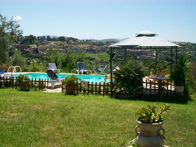 Photo for House with pool in the Sabina countryside