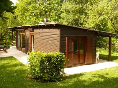 Photo for Cozy Chalet in Trois Ponts with Forest Nearby