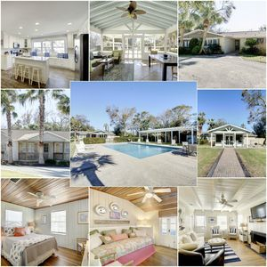 Photo for Welcome to the Compound!  3 Cottages to Enjoy! Sleeps 24! 1500' from the Beach with a Pool!