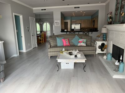 Complete remodel of the entire condo with beautiful new floor, paint, finish.