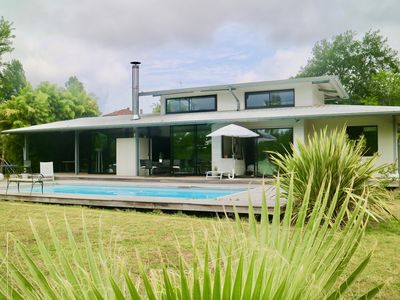 Photo for VILLA WITH SWIMMING POOL CALIFORNIAN STYLE 4 BEDROOM 10min beaches.