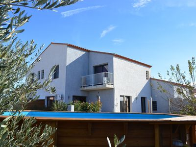 Photo for APT 1 BEDROOM IN VILLA on the 1st floor overlooking CANIGOU in the countryside