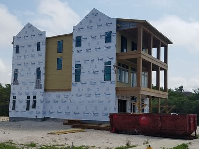 Photo for Brand new resort home / sleeps up to 32 in beds/ Gulf View short walk to beach