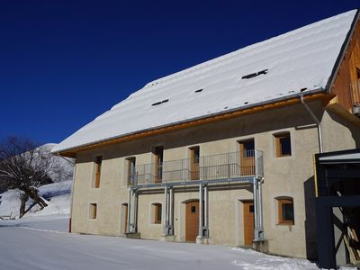 Photo for Beautiful and spacious apartment 9 people at the foot of the slopes