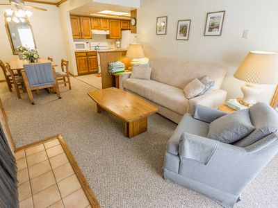 Photo for Two Bedroom - Copper Chase 211 - Ski In Ski Out Chairs 4 & 6