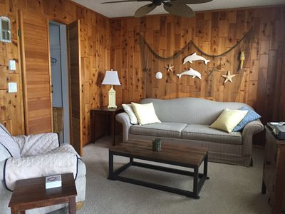 Photo for Cute One Bedroom Affordable Clean Condo Get Away with Deck and Pool!