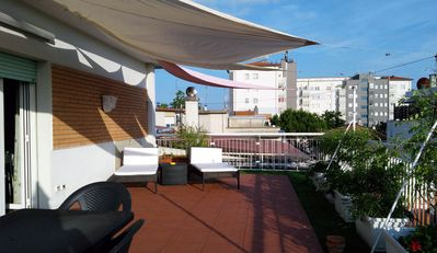 Photo for Missori Panoramic Loft - Missori Panoramic Loft apartment in Bolognese with WiFi, air conditioning,…