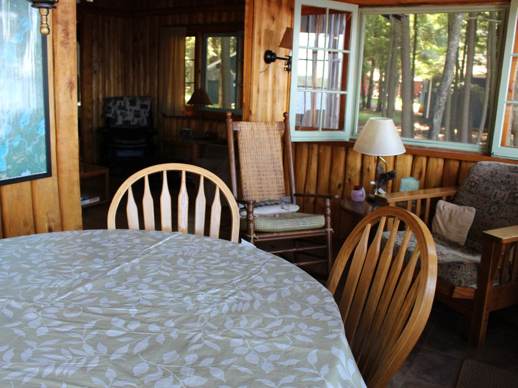 Truely northwoods lakefront cabins three lakes wisconsin for Northwoods wisconsin cabin rentals